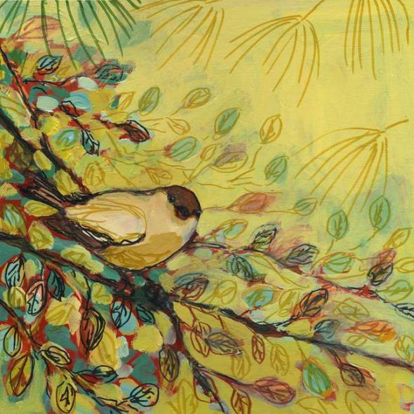 Goldfinch-Resting_art